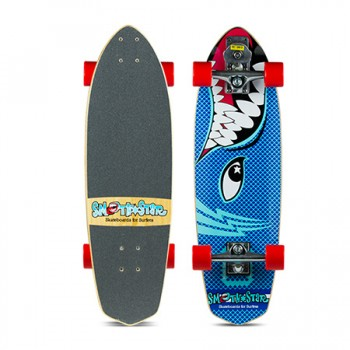 "SmoothStar Surfing Skateboard - 30"" Barracuda"